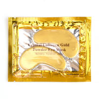 Патчи для глаз Сrystal Collagen Gold Powder Eye Mask